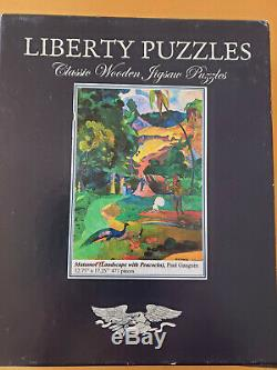 Liberty Puzzles Classic Wooden Jigsaw Puzzle Matamoe 471 Pieces Complete