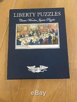 Liberty Puzzles Classic Wooden The Dogs Dinner Party 447 Pieces