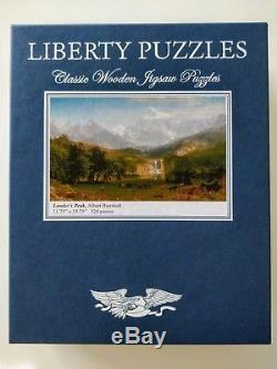 Liberty Puzzles' Large Wooden Puzzle LANDER'S PEAK