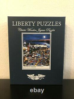 Liberty Puzzles Moonlight Over Manhattan Wooden Jigsaw Puzzle 562 Pieces