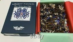 Liberty Puzzles OCTOPUS Wood Jigsaw Puzzle 495 pcs. Difficult