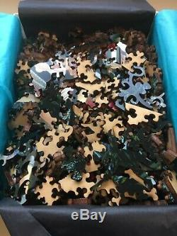 Liberty Puzzles Primavera 270 LARGE Pieces, Classic Wooden Jigsaw Puzzle