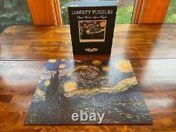 Liberty Puzzles Van Gogh Starry Night classic wooden jigsaw puzzle 465 pcs
