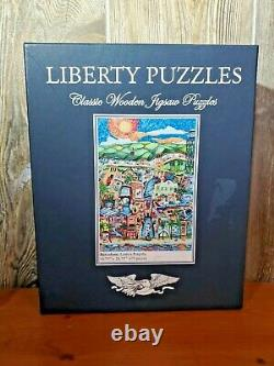 Liberty Puzzles Wooden Jigsaw Barcelona, Linnea Pergola 673 pieces
