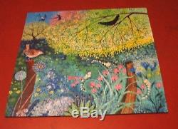 Liberty Puzzles Wooden Jigsaw Puzzle Jenny's Garden 468 Pieces COMPLETE