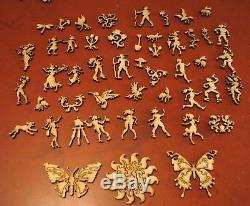 Liberty Puzzles Wooden Jigsaw Puzzle Mel's Belles 546 Pieces COMPLETE