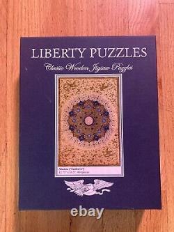Liberty Puzzles Wooden Jigsaw Puzzle Shamsa (Sunburst) 484 Pieces COMPLETE