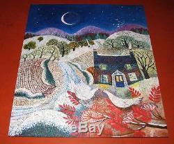 Liberty Puzzles Wooden Jigsaw Puzzle Snowbirds 528 Pieces COMPLETE