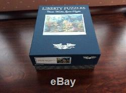 Liberty Wooden Jigsaw Puzzle. A Whopping 769 Pieces