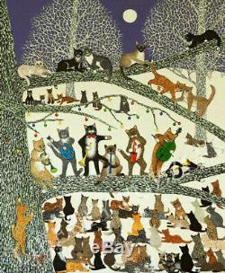 Liberty Wooden Jigsaw Puzzle Cats A Resounding Success NIB 513 pieces