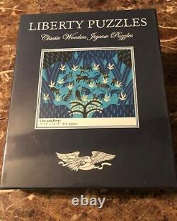 Liberty Wooden Jigsaw Puzzle Cats and Doves