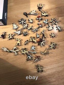 Liberty Wooden Jigsaw Puzzle Christmas Robins 270 pcs Holiday Puzzles Bird