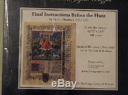 Liberty Wooden Jigsaw Puzzle Final Instructions Before the Hunt RARE & NEW