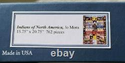 Liberty Wooden Jigsaw Puzzle Indians of North America 762 pcs