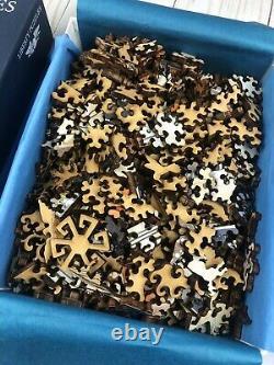Liberty Wooden Jigsaw Puzzle La Danse Alphonse Mucha 377 Pieces READ Listing