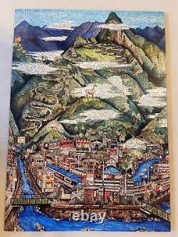 Liberty Wooden Jigsaw Puzzle Machu Picchu by Linnea Pergola 670 pcs MINT