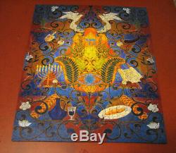 Liberty Wooden Jigsaw Puzzle Shalom Hamsa 463 Pieces COMPLETE