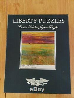 Liberty Wooden Jigsaw Puzzle Sunset (Childe Hassam) 514 pieces Rare