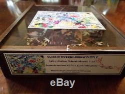 Liberty Wooden Jigsaw Puzzle Uptown Fantasy by Rebekah Maysles for Anthropologie