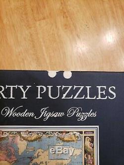 Liberty Wooden Jigsaw Puzzles Map of the British Empire in 1886737pcs