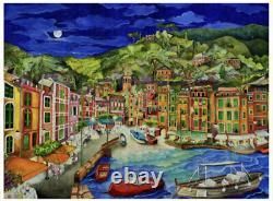 Liberty Wooden Jigsaw Puzzles, Portofino Italy (Brand New)
