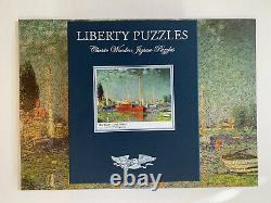 Liberty Wooden Puzzle, Red Boats, Claude Monet, 490Pcs, Complete