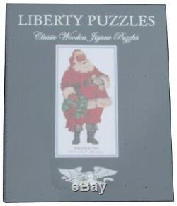 Liberty Wooden Puzzle Santa St. Nick 280 pcs. New