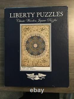 Liberty Wooden Puzzle Shamsa (Sunburst) -484 Pieces