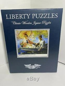 Liberty Wooden Puzzle Summer, 1918 222 Pieces New In Wrapper