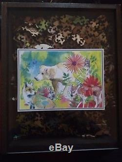 Liberty Wooden Puzzle for Anthropologie 519 Pieces Woodland Friends
