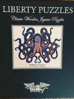 Liberty Wooden Puzzles Octopus, 15.75 x 20.25 495 Pieces