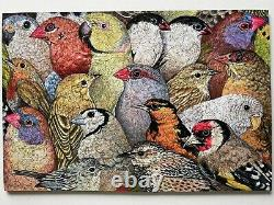 Liberty Wooden Puzzles, Spring Collection 2021, Patchwork Birds 562 Pieces