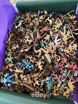 Liberty classic wooden jigsaw puzzles The Blue Pergola 481 Pieces