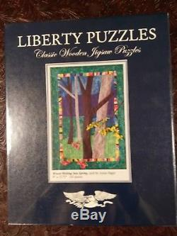 Liberty puzzles classic wooden jigsaw puzzle Annie Hagar