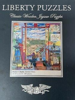 Liberty puzzles wooden jigsaw puzzles