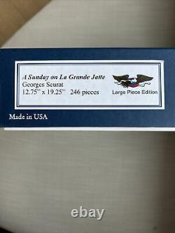 Liberty wooden jigsaw puzzle A Sunday on La Grande Jatte 246 pieces