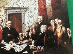Liberty wooden jigsaw puzzle-Declaration of Independence-610 pcs. Hard to find