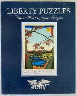 Liberty wooden jigsaw puzzle Hiroshige used 475 pieces