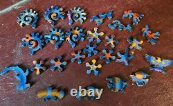 Liberty wooden jigsaw puzzle Octopus, expert, euc 495 pieces, completed once