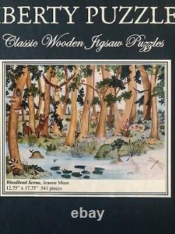 Liberty wooden jigsaw puzzle Woodland Scene 541 pieces complete