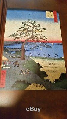 Liberty wooden jigsaw puzzles. Armor-Hanging Pine by Ando Hiroshige