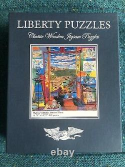 Liberty wooden jigsaw puzzles Matisses Studio, 483 pieces complete