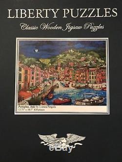 Liberty wooden jigsaw puzzles, Portofini, Italy