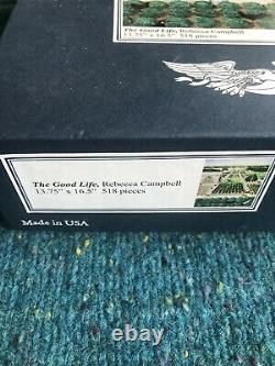 Liberty wooden jigsaw puzzles The Good Life, 518 pieces complete