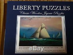 Liberty wooden puzzles
