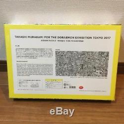 Limited Doraemon Exhibition Jigsaw Puzzle Takashi Murakami Doraemon NEW Japan