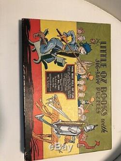 Little Of oz books With Jig-Saw Puzzles Set No. Two Tiktok And The Nome King