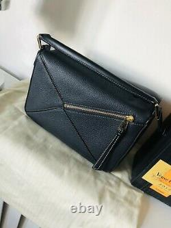 Loewe Midnight Blue Puzzle Bag Small