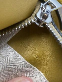 Loewe Small Leather Puzzle Bag Mustard Yellow Multi, Authentic, + Dustbag