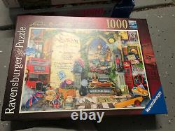 Lot Of 12 Ravensburger Puzzles 1000 1200 1500 Pieces Adult Assembled Once
